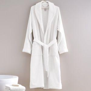 Frette Shawl Collar Bathrobe cotton